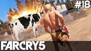 FAR CRY 5 Gameplay PL [#18] KROWA vs RPG /z Skie