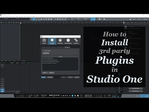 How to install plugins in Studio One