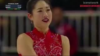 OLYMPIC MIRAI NAGASU 2018 FS   US  FIGURE SKATING CHAMPIONSHIPS