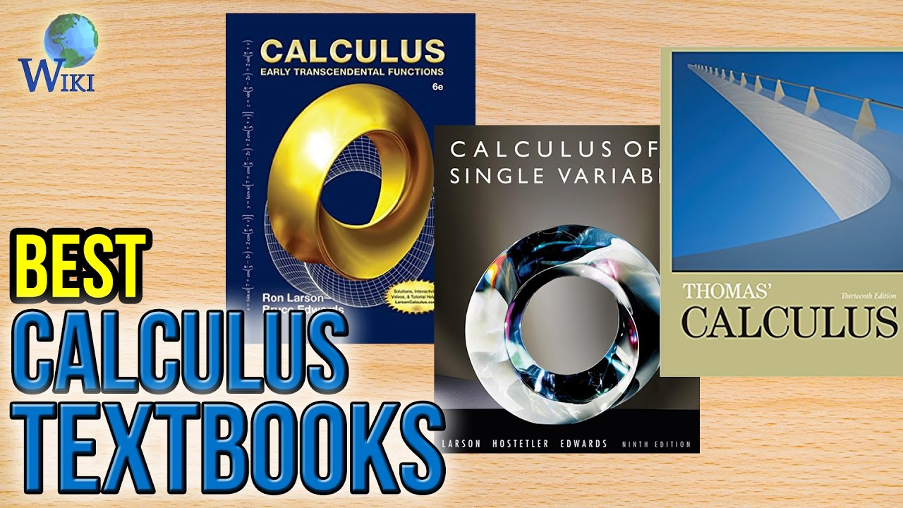10 Best Calculus Textbooks 2017