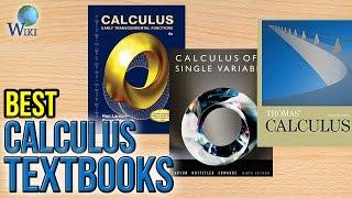 10 Best Calculus Textbooks 2017