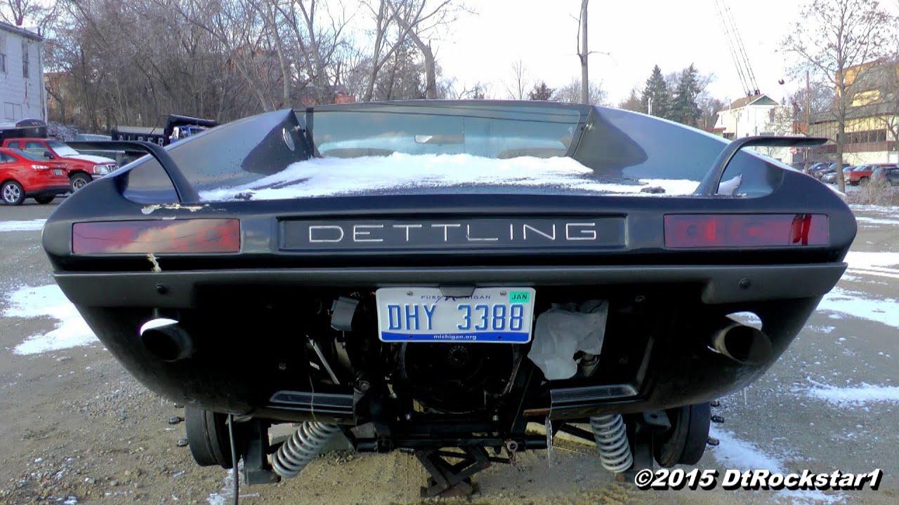 Rare DETTLING Sports Car - YouTube