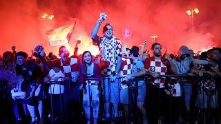 Mondial 2018 : les Croates exultent, les Anglais accusent le coup !