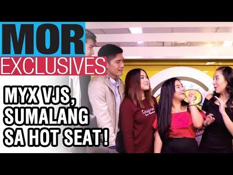 #MORExclusives: MYX VJs, Sumalang Sa Hot Seat! Naranasan Na Nga Ba Ni Robi Domingo Na Ma-friendzone?