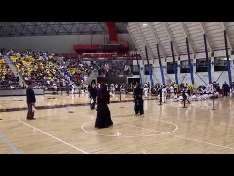 Kendo 2015 Nikkei Games 3Dan QF court C
