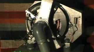 RotoLang moteur rotatif à gaz - rotating gas injected engine