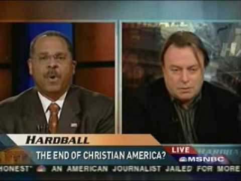 Hardball: Christopher Hitchens vs Ken Blackwell on the US Being a Christian Nation