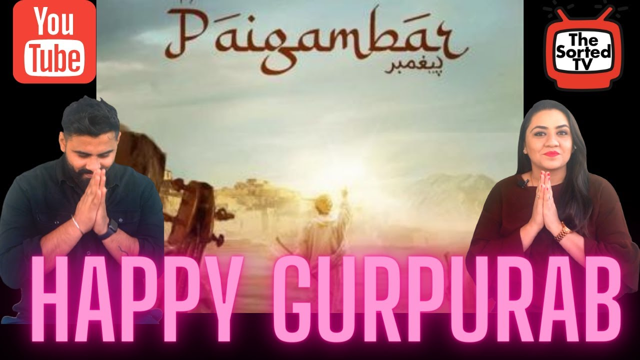 Paigambar (ਪੈਗੰਬਰ) DILJIT DOSANJH | Beat Minister | Gurupurab Special || Delhi Couple Reaction