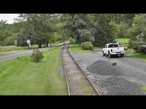 Wilmington & Western - Caboose Cab Ride Pt 1