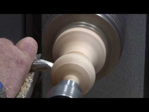 Woodturning: Christmas Ornament #2