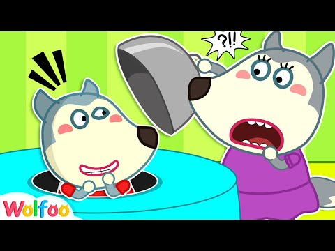 Funny Stories for Kids About Wolfoo Plays Hide and Seek with His Parents | Wolfoo Channel