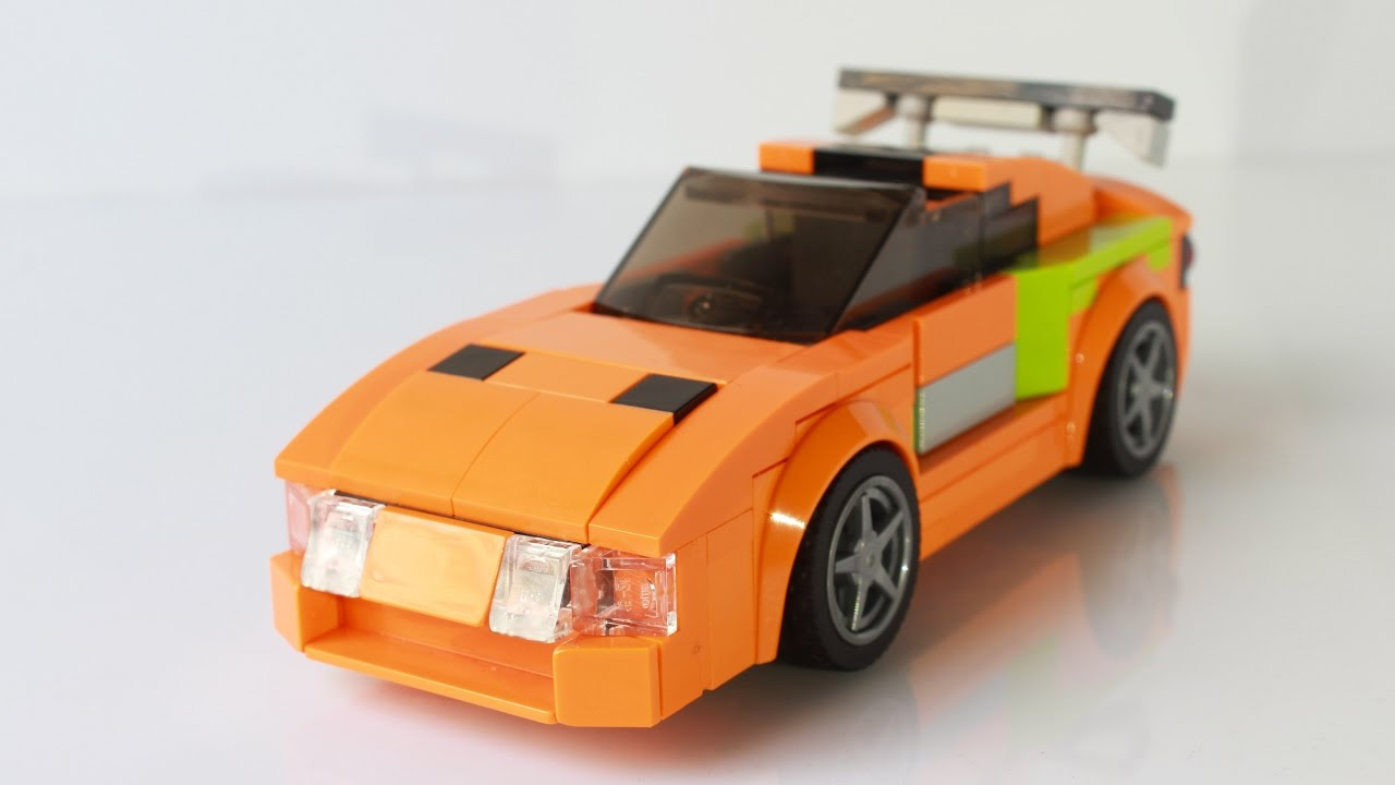 Lego The Fast And The Furious Toyota Supra Youtube