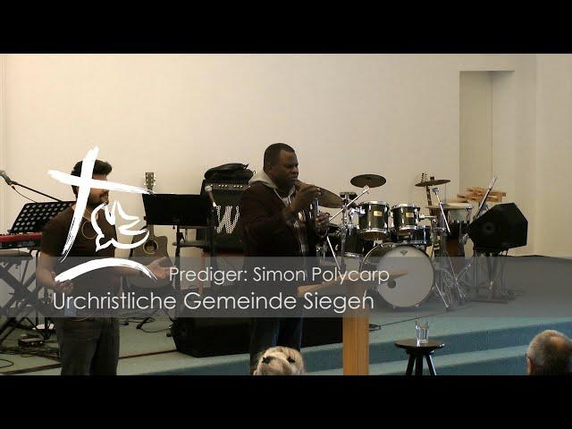 UGS - Predigt vom 26.01.2020 - Simon Polaycarp als Gastprediger