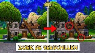 FORTNITE ZOEK DE VERSCHILLEN *MOEILIJK*!! - Fortnite Playground (Nederlands)