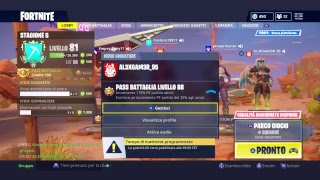 LIVE FORTNITE LAGO VULCANO? BATTLE PASS 6! Let's see together