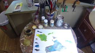 Oil Painting - Basic Layers Part 2