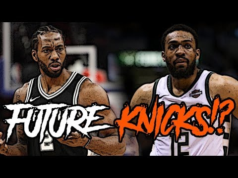 Are The Knicks A Possible LANDING SPOT For Kawhi Leonard!?