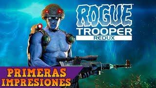 ROGUE TROOPER: REDUX - Primeras impresiones / Gameplay en español: Genética superior (60fps)