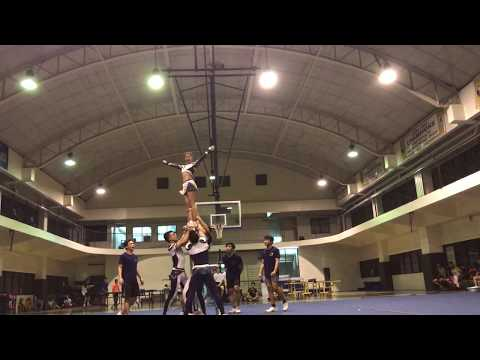 NCC Finals 2017 Team Gold Group Stunts