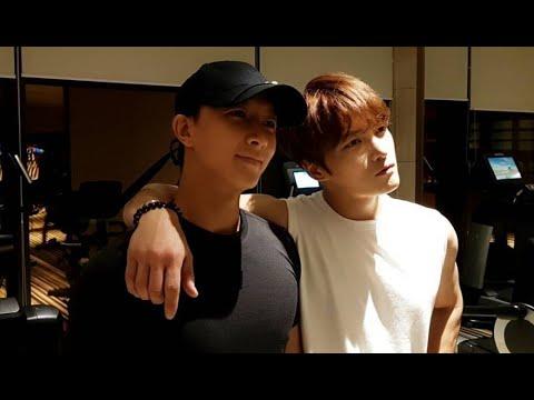 JYJ's Jaejoong reunites with former Super Junior member Hangeng