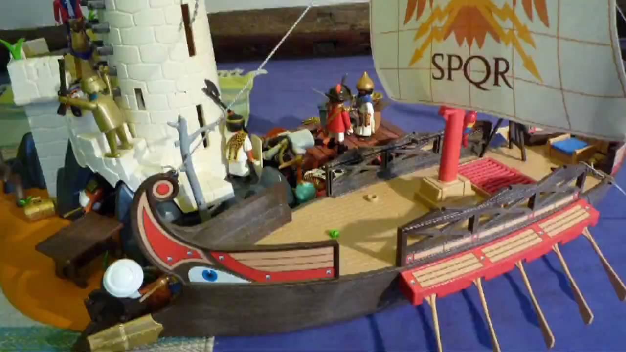 Playmobil l 39 egypte contre les pirates youtube - Egypte playmobil ...