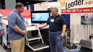 Pet Loader at The 2014 Chicago Boat, Sports & RV Show