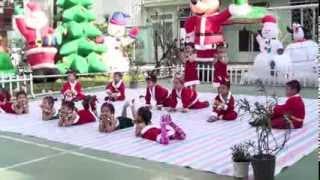 Ông Noel dễ thương - Chồi 1 - Trường MG Họa Mi 14A