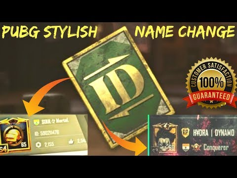 Download Pubg Name Change With Styles 100 Working MP3, MKV