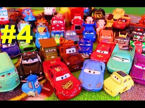 Тачки Моя Коллекция 4 Молния Маквин Мэтр и их Друзья Мультики про Машинки для Детей