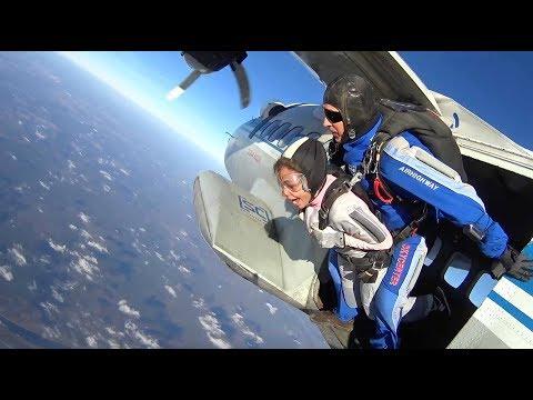 HOT VIDEO. Лена Беркова прыгнула тандем. | выпуск 4