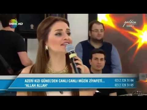 Azeri kizi Gunel, Sami - Allah Allah (Canli performans)