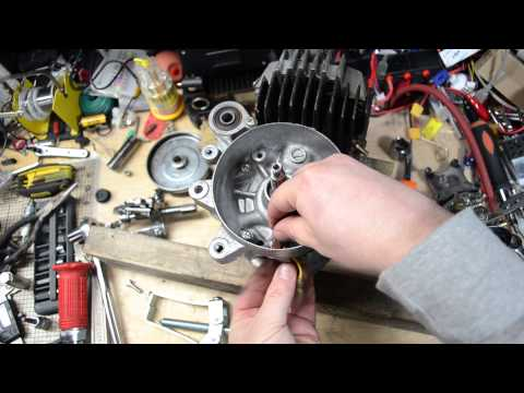 1978 Honda Hobbit, Part 3 - Engine Dis-Assembly & Cleaning