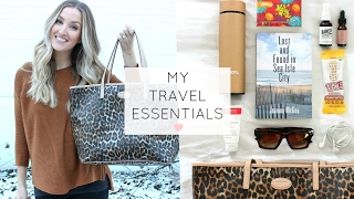 WHAT'S IN MY CARRY ON BAG | My Travel Essentials!
