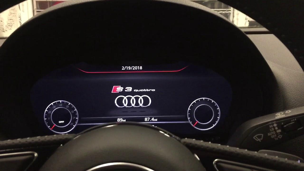 Audi A3/S3 MMI reset - YouTube