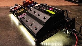 How To Build A Diy Guitar Pedalboard For $19 + Tax