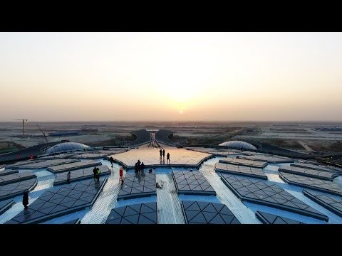 Construction starts on 'brain' of Beijing's new airport