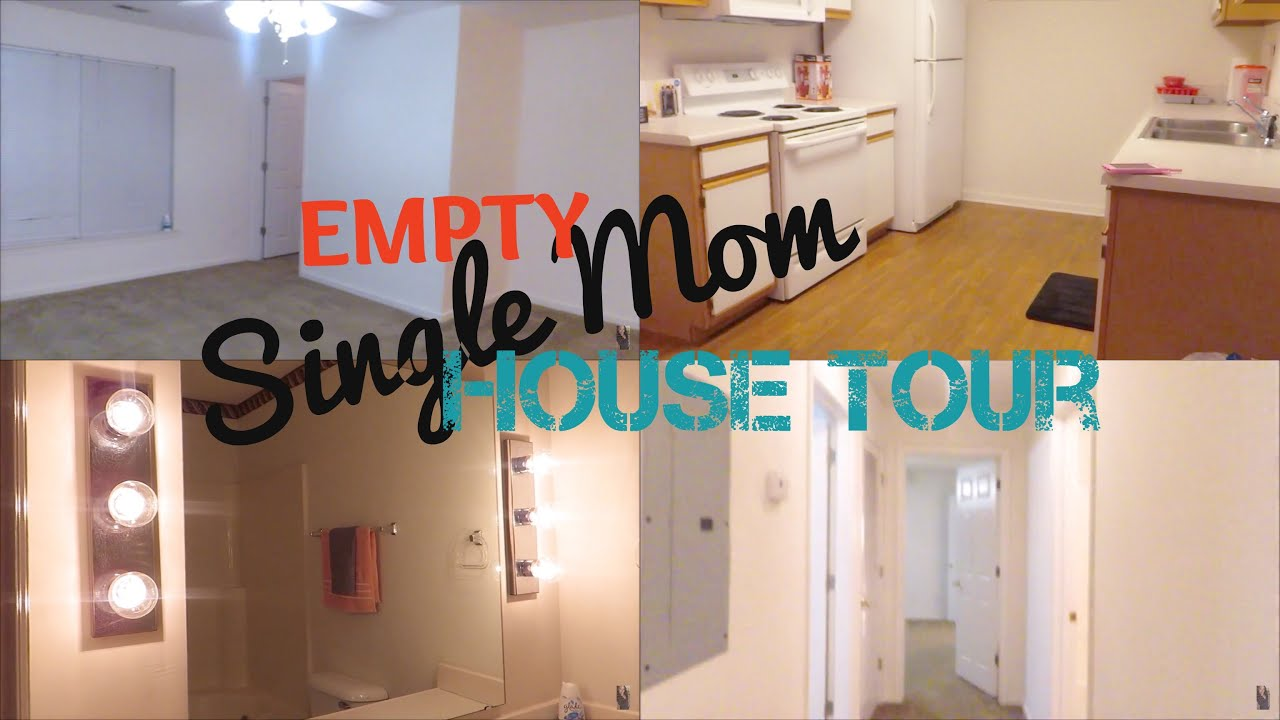 Empty Single Mom Apartment Tour Of 2 Lifeasbrittany