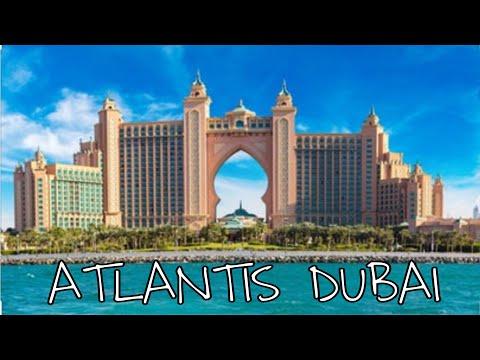 DUBAI ATLANTIS IN PALM JUMEIRAH THE EXPENSIVE PLACE IN THE OF DUBAI
