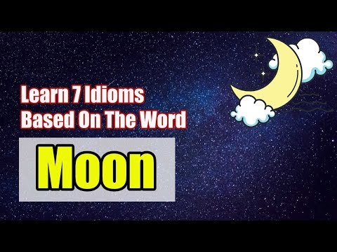 Idioms With The Word Moon || English Vocabulary Lessons || Urdu/Hindi