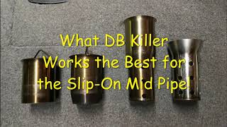 DB Killers For Mid Pipe Motorcycle Muffler For Yoshimura Or Other Exhausts