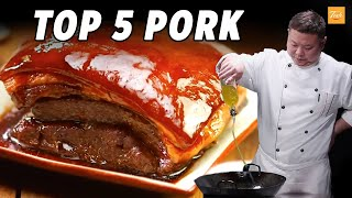 Top 5 Pork Recipe by Materchef   How To   Cooking Chinese Food • Taste Show
