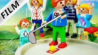 Playmobil Film deutsch | UNFALL BEI MINIGOLF - Wird Emma verletzt? Kinderfilm Familie Vogel