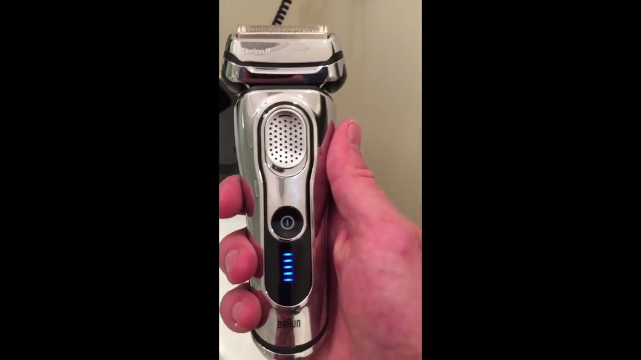 braun series 9 wet dry shaver part 2a review youtube. Black Bedroom Furniture Sets. Home Design Ideas