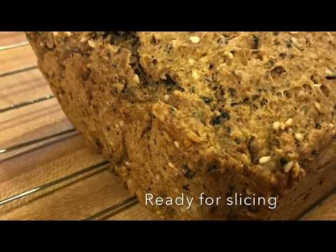 The BEST Vegan Whole Wheat Multi Seed Bread (no Yeast Or Kneading)