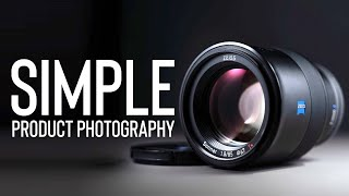 SIMPLE & PROFESSIONAL Product Photography AT HOME | ONE LIGHT & A PAPER