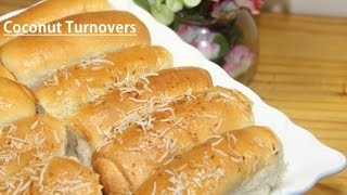 BAJAN COCONUT TURNOVERS Recipe demonstration