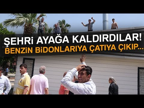 Mersin'de Olaylı Yıkım: Şehri Ayağa Kaldırdılar!