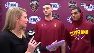 From L.A. to The Land: Larry Nance Jr. & Jordan Clarkson talk joining Cleveland Cavaliers with Allie