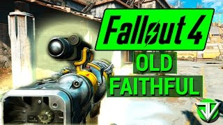 FALLOUT 4 How To Get OLD FAITHFUL Laser Gun Unique Weapon Guide
