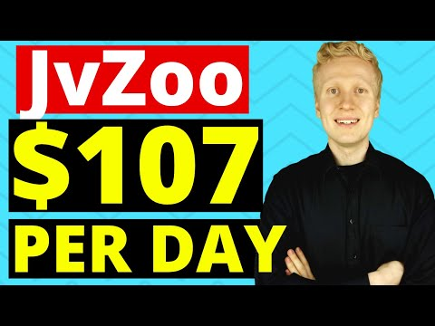 JvZoo Affiliate Marketing Tutorial: EARN $107 PER DAY! (Make Money on JvZoo with 4 Steps!) thumbnail